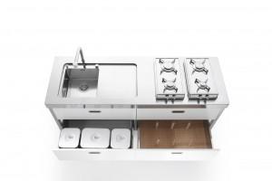 Küchenmodule Edelstahlmöbel Edelstahlküchen Edelstahlkamine ...